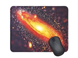 Mouse Pad with Stitched Edge Computer Mouse Pad with NonSlip Rubber Base Mouse Pads for Computers Laptop Mouse 96x79x01 inch Galaxy Nebula