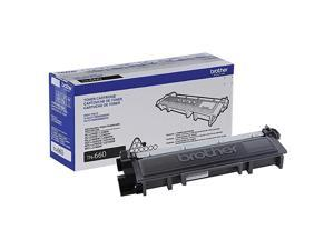 Genuine High Yield Toner Cartridge TN660 Replacement Black Toner Page Yield Up To 2600 Pages  Dash Replenishment Cartridge