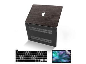 MacBook Pro 16 Inch Case 2019 Release A2141  UltraSlim Wooden Hard Corner Protective Shell Cover with Keyboard amp Screen Protector Compatible for Apple MacBook Pro 16 with Touch Bar and Touch ID