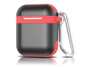 Case for Airpods  Upgrade AirPods Protective Metal Case with Air Pods Accessories Keychain Soft SiliconeHard Aluminum Slim PortableShockproof Airpod Case for Apple Airpods 21 Charging Case