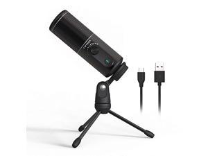 USB Computer Microphone XM520 Recording Microphone for PC LaptopDesktop Condenser Microphone with Mute Switch for MAC and Windows Studio RecordingPodcastYouTube GamingSinging