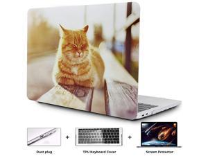 MacBook Air 13 Inch Case 2018 Laptop Case MacBook Air 13 inch Release A1932 Computer Case MacBook Air 13 Inch Hard Shell Cute MacBook Air 13 Case with Touch ID Garfield G8