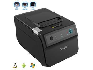 SGT88IV Desktop USB Direct Thermal POS Receipt Printer with USBSerialEthernet Ports Work on Windows XP788110LinuxAndroid