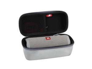 Hermitshell Hard EVA Travel Case Fits JBL Flip 3 / Flip 4 Splashproof Portable Bluetooth Speaker