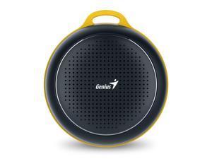 Genius SP-906BTBlack Outdoor Portable Bluetooth Speaker (Black)