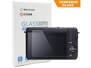 Poyiccot Tempered Glass Screen Protector for Canon EOS M3 / M5 / M10 / 100D /