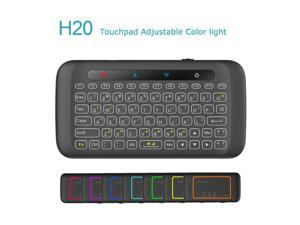 edf2e62e242 Dupad Story H20 2.4GHz Mini Wireless Keyboard with Remote Mouse Combo  Backlit Multi-Touch