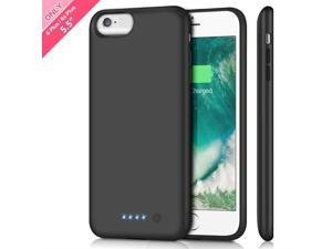 d237804e9f Battery Case for iPhone 6s Plus/ 6 Plus Upgraded 8500mAh Portable  Rechargeable Charger Case for
