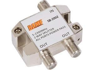 2Way Coax Cable Splitter BiDirectional MoCA 52300MHz