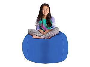 Oakworks Premium Stool with Saddle Seat High Bluegrass Upholstery