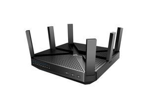TP-Link AC4000 Smart WiFi Router - Tri Band Router , MU-MIMO, VPN Server, Advanced Security by Homecare,  1.8GHz CPU,  Gigabit, Beamforming, Link Aggregation, Rangeboost, Works with Alexa(Archer A20)