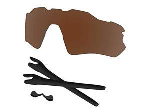 Radar EV Path Lenses Rubber Kits Replacement for Oakley OO9208 Polarized