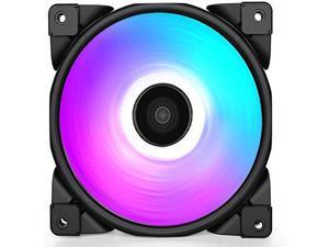 CPU Cooling PWM Single Fan 120mm Halo FRGB PC Mute Case Cooling Fan-PCCOOLER