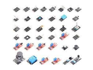37 IN 1 Sensor Kit Starter Kit Sensors Set for UNO R3 for MEGA 2560 for Raspberry Pi 3 Model B+ Plus DIY Learning Suit
