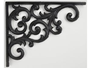 Ornate Cast Iron Vine Shelf Bracket Craft Custom Shelves
