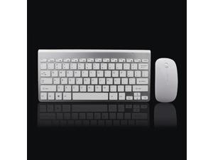 afef62ae1e7 2.4Ghz Ultra-Thin Wireless Keyboard And Mouse Combo-Silver