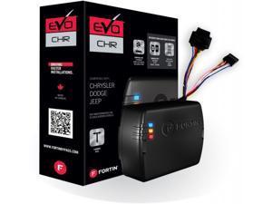 Fortin - EVO-CHRT5 - Stand-Alone Add-On Remote Start Car Starter System For Chrysler Dodge Jeep Traingle Standard Key