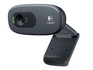 New,Logitech C270 Widescreen HD Webcam and 3 MP designed for HD 720p Video Calling and Recording,Up to 1280 x 720 pixels,Crisp 3 MP photos,Automatic light correction