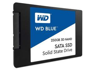 """HighQuality Solid State Drive:WD Blue 3D NAND 250GB PC SSD - SATA III 6 Gb/s, 2.5""""/7mm - WDS250G2B0A"""