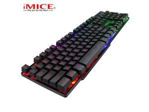 Keyboards Gaming IMice AK-600 Backlight Suspension Key Mechanical Keyboard Game Wired PC Notebook