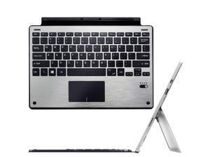 Werleo Microsoft Surface Pro 3 / Pro 4 / Pro 5 Bluetooth Keyboard Ultra-Slim Portable Aluminum Wireless Bluetooth Keyboard For Surface Pro 3 / Surface Pro 4 / Surface Por 5 with Trackpad