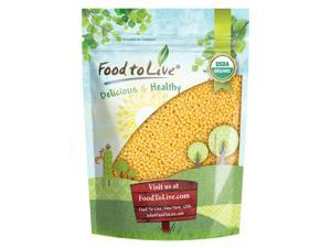 Organic Hulled Millet by Food to Live (Whole Grain Seeds, Non-GMO, Kosher, Raw, Bulk, Product of the USA) — 3 Pounds