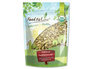 Organic Pepitas/Pumpkin Seeds by Food to Live (Raw, No Shell, Kosher) — 4 Pounds