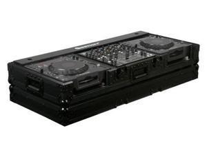 odyssey fz12cdjwbl 12in mixer / cd player case 12 inch dj mixer coffin