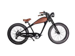 GlareWheel EB-CH Black Electric Bike with 7-Speed Gear