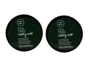 Paul Mitchell Tea Tree Shaping Cream 3oz Pack of 2
