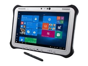 "Panasonic Toughpad G1, FZ-G1, Intel Core i5-5300U @2.30GHz, 10.1"" WUXGA Gloved Multi Touch + Digitizer, 128GB SSD, 8GB, Wi-Fi, 4G LTE, Camera, Webcam, Bridge Battery, LAN Port, Dual Pass, Win 10 Pro"
