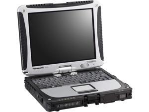 "Panasonic Toughbook 19, CF-19 MK5, 10.1"" Touchscreen, Rugged Laptop Convertible Tablet, Intel Core i5-2520M@2.50GHz, 128 GB SSD, 8GB, Wi-fi, Bluetooth, Dedicated GPS, GOBI, Windows 10 Pro"