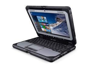 "Panasonic Toughbook CF-20 MK1, Intel Core m5-6Y57 @ 1.1GHz, 10.1"" WUXGA Multi-Touch, 16GB, 128GB SSD, Webcam & Rear Camera, Backlit Keyboard, Wi-Fi & Bluetooth, 4G LTE, Windows 10 Pro"