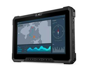"Dell Latitude 7220 Rugged Tablet, Intel Core i5-8365U @ 1.60GHz, 11.6"" FHD Touchscreen, 16GB, 512GB NVMe, Wi-Fi & Bluetooth, 4G LTE, GPS, Webcam & Rear CAM, Win10 Pro"