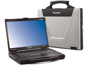 "Panasonic Toughbook 52, CF-52 MK3 Semi-Rugged Laptop, Intel Core i5-540M @ 2.53GHz, ATI Radeon, 15.4"" WUXGA, 8GB, 256 SSD, Wi-Fi, Bluetooth, DVD, Smart Card Reader, Win10 Pro 64-bit - 90 Days Warranty"