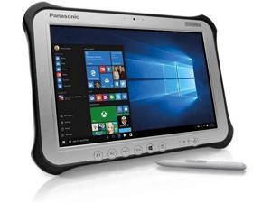 "Panasonic Toughpad G1, FZ-G1 MK4 Rugged Tablet, Intel Core i5-6300U, 10.1"" Multi Touch + Digitizer, 128GB SSD, 8GB, Wi-fi, Bluetooth, Webcam, Rear Camera, TPM 2.0, Windows 10 Professional"