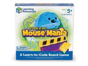 """Learning Resources Board Game Mouse Mania 10""""Wx10""""Lx1-7/10""""H Multi LER2863"""