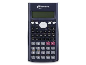 Innovera IVR15969 15969 Scientific Calculator, 240 Functions, 10-Digit LCD, Two Display Lines