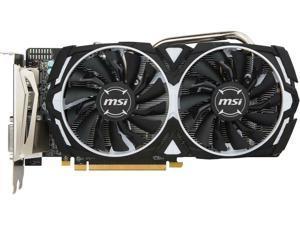 MSI Radeon RX 570 DirectX 12 RX 570 ARMOR 4G OCV1 4GB 256-Bit GDDR5 PCI Express