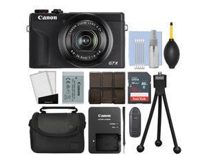 Canon PowerShot G7X Mark III 20.2MP 4K Digital Camera 4.2x Zoom Black + 16GB Kit