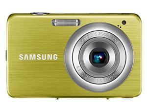 samsung st30 10 mp compact digital camera (yellow) (renewed)