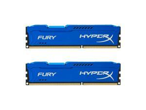 Kingston HyperX Fury 16GB Kit (2x8GB) 1866MHz DDR3 CL10 DIMM - Blue (HX31... New