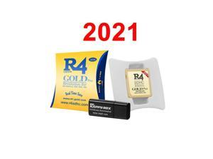 New R4 R4i SDHC Gold Pro Dual Core RTS Lite Flash Card Adapter Kit for DS DSI 2DS 3DS New3DS