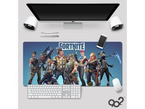 Fortnite High Quality Mouse Pad Gamer Play Mats Large Gaming Mouse Pad Keyboard Pad PC Desk Pad (800 x 300 x 3 mm)