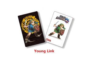 New Young Link Amiibo NFC TAG Card for NS Switch Wii U 3DS Super Smash Bros.