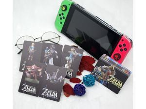 24pcs Full Set The Legend of Zelda Breath of the Wild/Hyrule Warriors: Age of Calamity NFC TAG Amiibo Cards with BOTW Free Tin Box