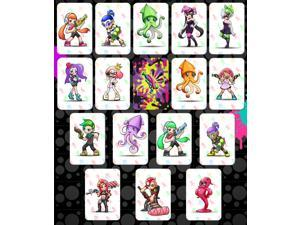 16pcs Splatoon 2 Full Set Customized AMIIBO NFC TAG Cards for NS Switch/ WII U/ New 3DS