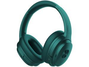 SHOPIFY-SE7 Dual Feedback Active Noise Cancelling Bluetooth Headphones, GREEN