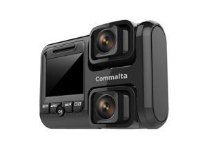 Commalta Dash Cam,Dash Camera for Cars Front with LCD Screen , Gravity Sensor, WDR, Loop Recording, Motion Detection, Night Vision