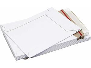 "200 - 6"" x 8"" White CD/DVD Photo Ship Flats Cardboard Envelope Mailer Mailers"